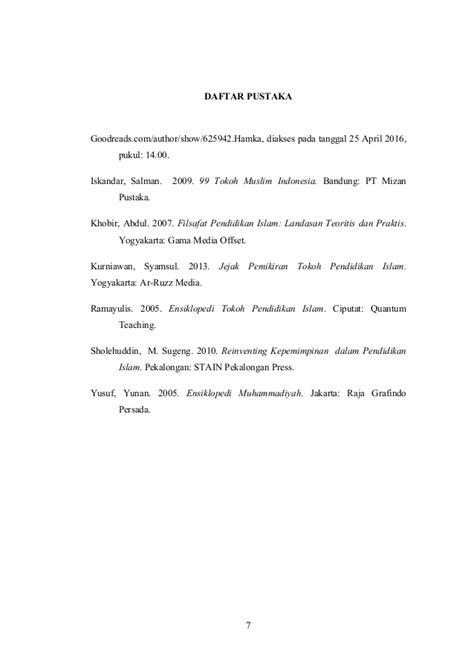 biodata hamka tokoh islam biografi hamka