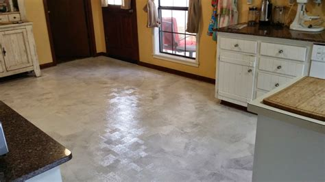 how i painted my linoleum floors the virtuous