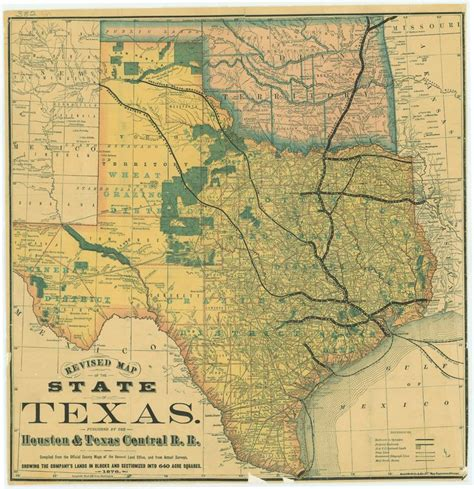 railroad map texas 39 best images about historic maps of texas and mexico on santa el paso and