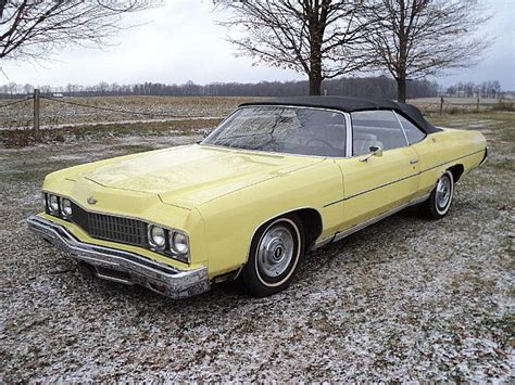 1973 chevy impala convertible for sale 73 caprice convertible for sale