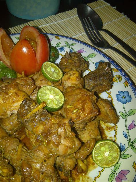 chinese food week ncc ayam goreng saus kecap  sri mulyani