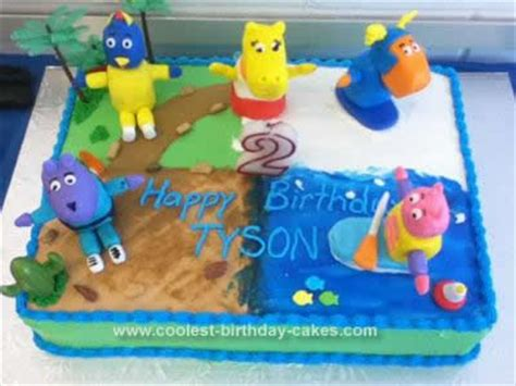 Backyardigans High Pitch Pin Coolest Musical Notes Birthday Cake Ideas Cake