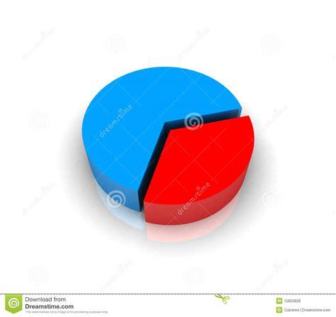 pie chart graph   stock illustration illustration  figures