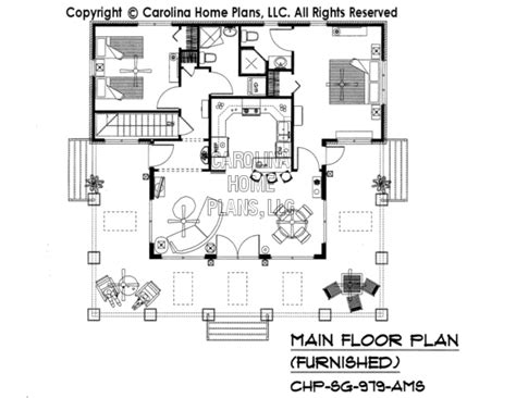 Small House Plans Carolina 3d Images For Chp Sg 979 Ams Small Craftsman