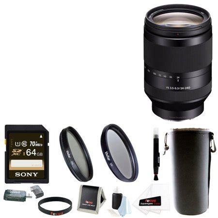 Sony Fe 24 240mm F 3 5 6 3 Oss sony fe 24 240mm f 3 5 6 3 oss telephoto zoom lens 64gb