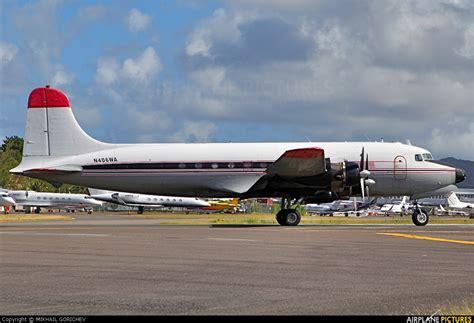 n406wa florida air transport douglas c 54a skymaster at sint maarten princess juliana intl