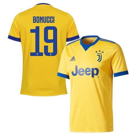 Jersey Juventus Away Patch Serie A 2017 2018 Grade Ori juventus away bonucci jersey 2017 2018 official player