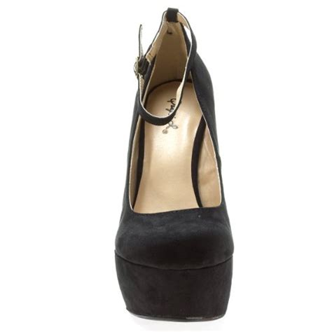 heel less high heel shoes qupid s ting01 ankle curved heel