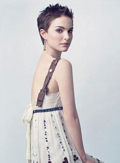Natalie Portman Is Sort Of Not Really The Superficial Because Youre by Unbearably Pixie Hairstyles Natalie Portman Style
