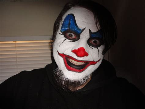 clown paint easy evil clown paint www imgkid the image