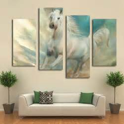 beautiful white horse canvas art prints modern wall wall art designs wall art prints nursery wall art prints