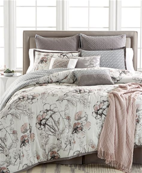 queen comforter only kelly ripa home pressed floral 10 pc reversible queen