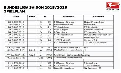 Calendrier Dortmund 2015 Calendrier Pdf Bundesliga 2015 2016 224 T 233 L 233 Charger
