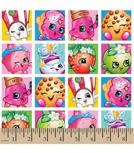 Paw Print Wall Stickers shopkins fleece fabric patches print jo ann