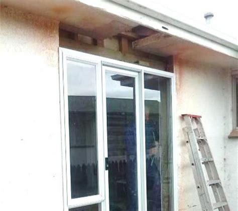 Patio Door Framing Exterior Patio Door Installed Without Header Or King