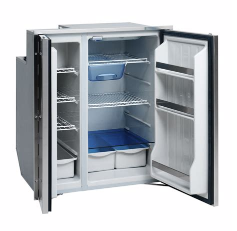 under cabinet fridge freezer isotherm cruise 200 all stainless steel by