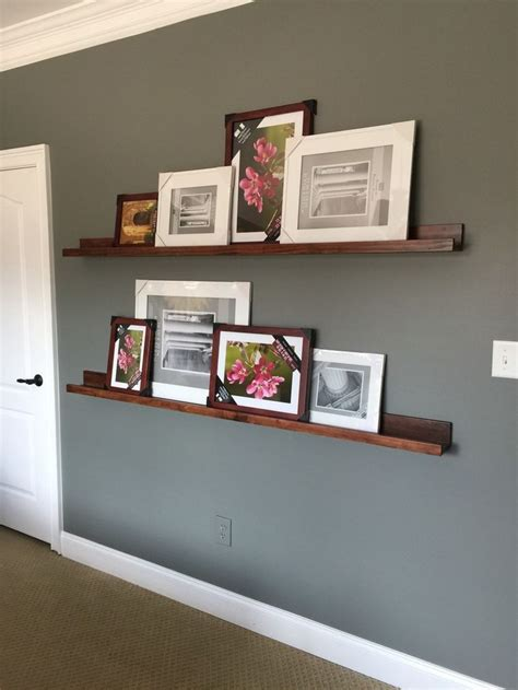 picture ledge ideas shallow shelves stains how to make and murals