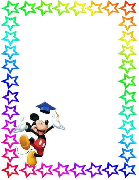 star page border clipart