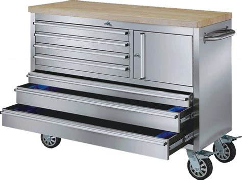 rolling tool bench 48 inch stainless steel rolling workbench automotive tools diesel generators