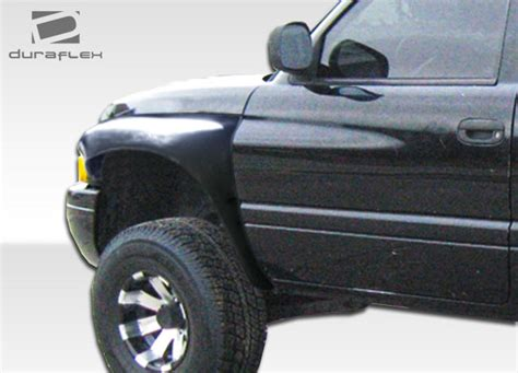 duraflex dodge bulge fenders ready to ship pirate4x4