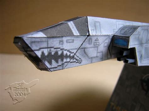 new paper model ship in the works wing commander cic