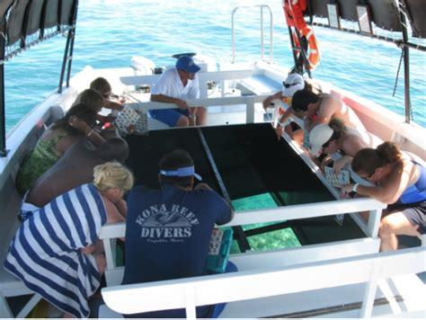 hawaii glass bottom boat waikoloa glass bottom boat cruise big island tours
