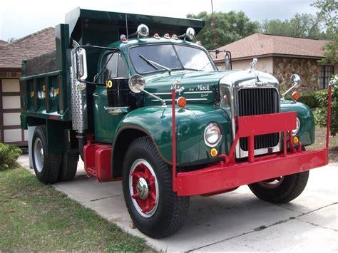 mack dump truck in for a classy cheap 1960 mack b61 dump truck