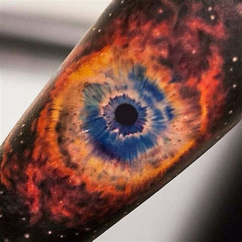 galaxy eye tattoo 95 fascinating space tattoo ideas the mysterious nature