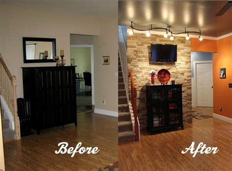 the great debate to accent wall or not to accent wall interior walls stone facing google search great room