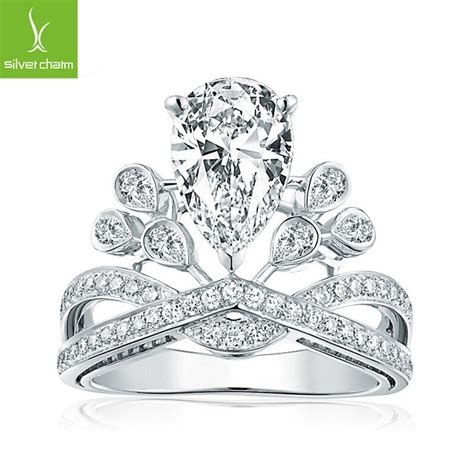 Angelababy Ring With My Princess Of Royal Crown Clear CZ