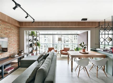 Living Room Ideas 2017 Apartamento Integra Varanda Ao Living Em Reforma Econ 244 Mica