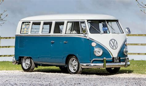 Wood Panelling retro volkswagen camper van to be auctioned off you won