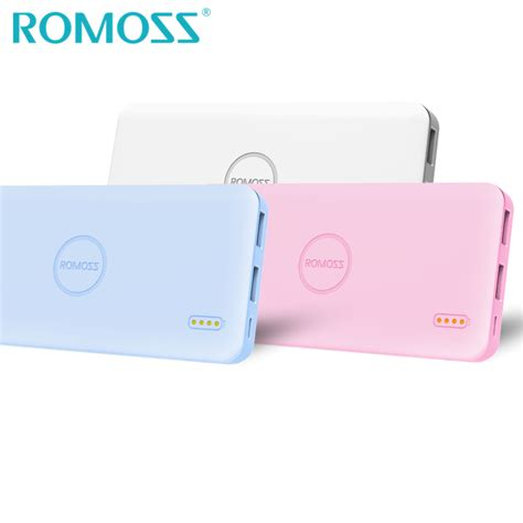 Power Bank Romoss Original original romoss 5000mah power bank external battery bank power charger for iphone 7 plus backup
