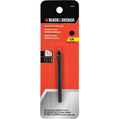 black and decker 4 in 1 black decker 1 4 in x 2 1 4 in carbide glass tile drill