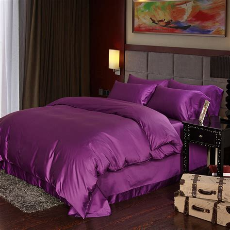 deep purple comforter sets luxury deep purple egyptian cotton bedding sets sheets