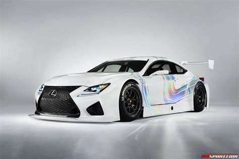 lexus rc modified official lexus rc f gt3 concept gtspirit