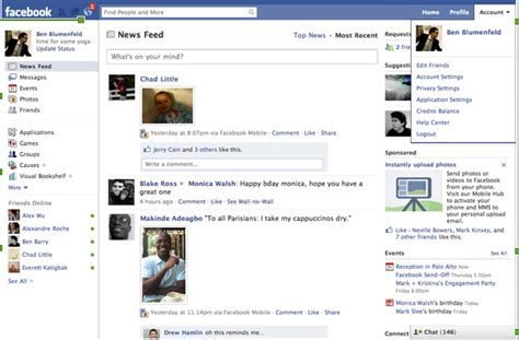 facebook s new simplified home page looks a bit complicated