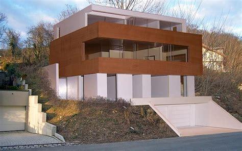 architekt finden wohnhaus nussloch wohnen am hang