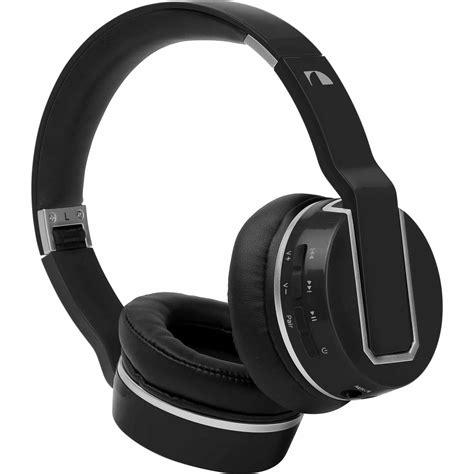 Headset Nakamichi Nakamichi Bthp02 Bluetooth 174 Wireless Headphones Black
