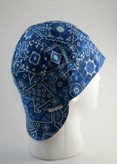 welding bandana pattern cleveland indians custom welders hat fitters cap by