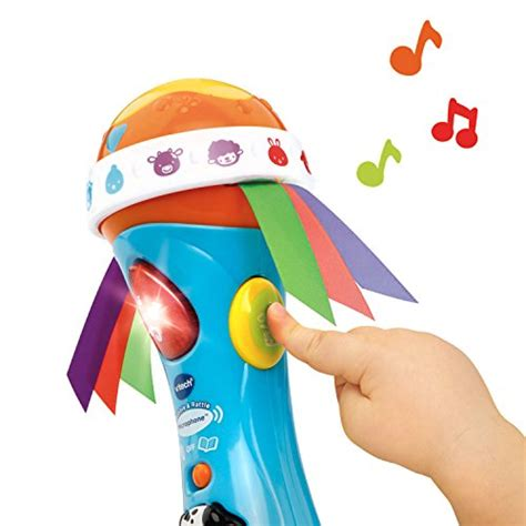 vtech baby rattle and sing puppy vtech baby babble and rattle microphone
