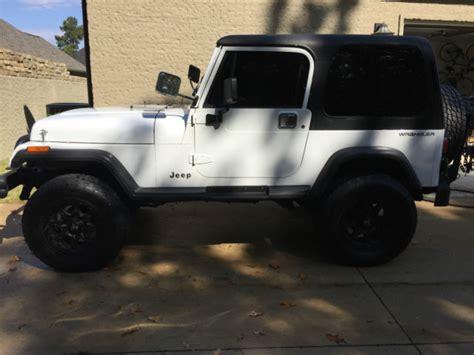 White 2 Door Jeep Wrangler For Sale 1994 Jeep Wrangler Se Sport Utility 2 Door 4 0l 5 Speed Ac