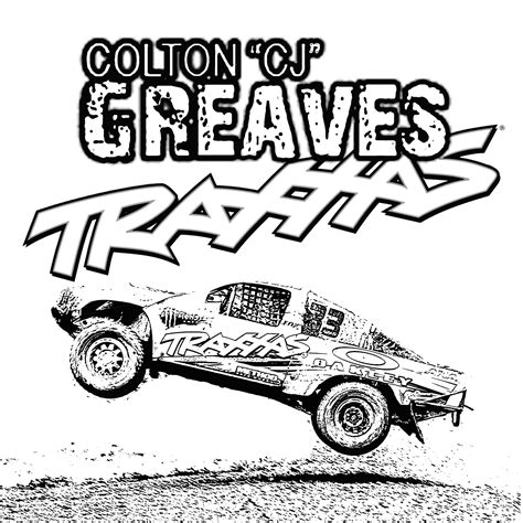 free coloring pages of rc car
