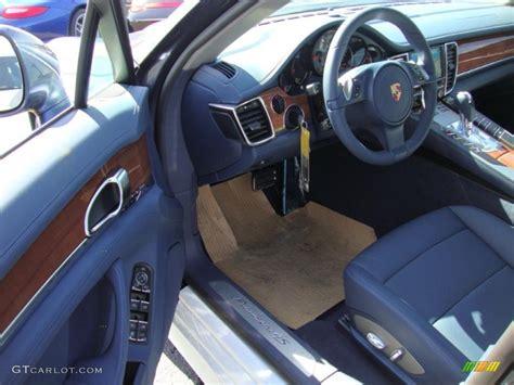 Porsche Panamera Interior Colors by 2010 Yachting Blue Metallic Porsche Panamera 4s 27919561 Photo 12 Gtcarlot Car Color