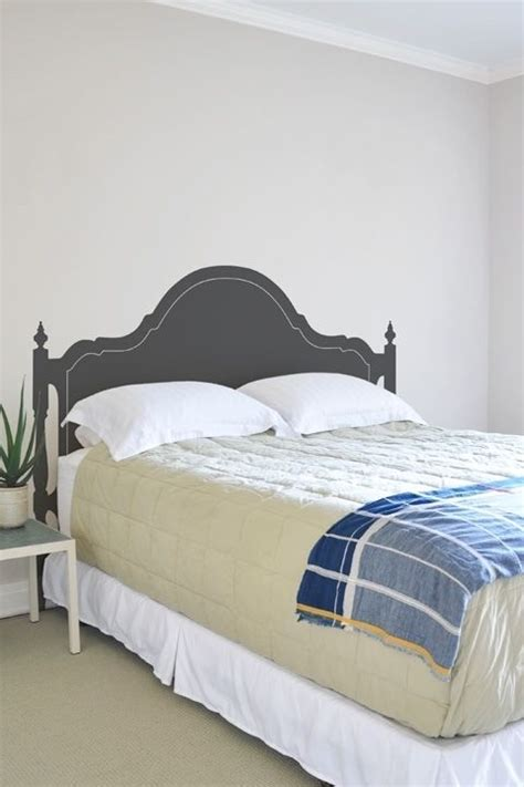 fake headboard ideas 17 best ideas about faux headboard on pinterest diy