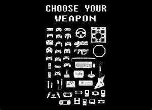 Fleece Duvet Covers Choose Your Weapon Gamers By Brian Campbell Threadless