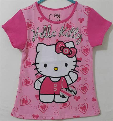 Atasan Kaos Anak Karaoke Grosir Pink 1 6 Th hello pink 1 6 disney grosir eceran baju anak murah berkualitas