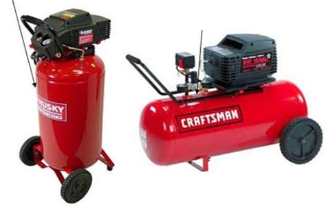 a bunch of craftsman other compressors recalled