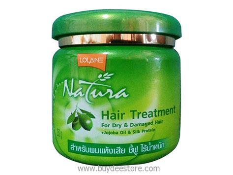 Lolane Natura Hair Treatment 500gr lolane natura hair treatment for damaged hair jojoba silk protein 250g buydee store