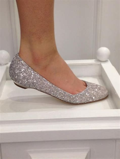 wedding shoes flats sparkle flats shoes wedding shoes gold glitter